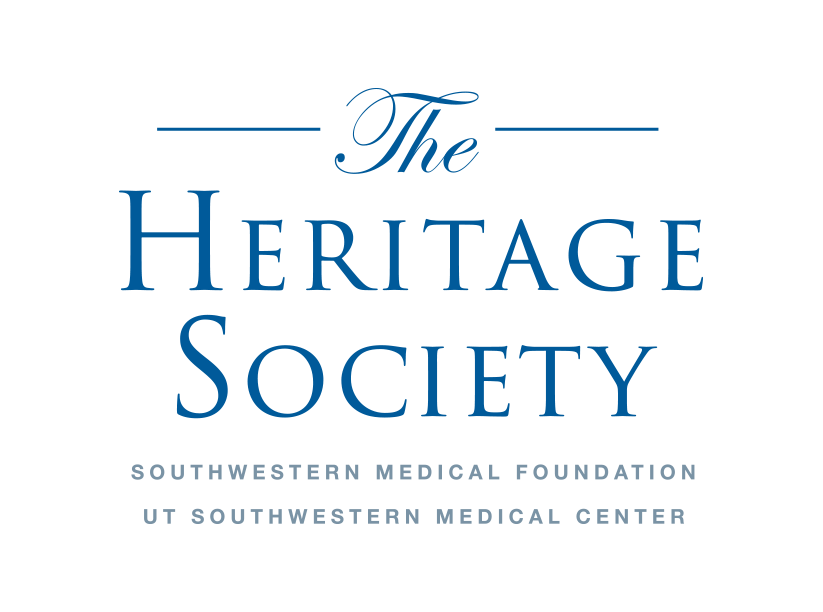 The Heritage Society logo blue